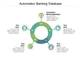 Automation Banking Database Ppt Powerpoint Presentation Introduction Cpb