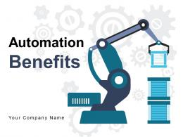 Automation Benefits Environmental Planning Business Organisation Productivity Availability Performance