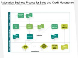 Automation Business Process For Sales And Credit Management