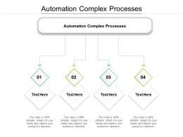Automation Complex Processes Ppt Powerpoint Presentation File Design Inspiration Cpb
