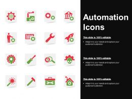 Automation Icons Powerpoint Ideas