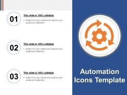 Automation Icons Template Powerpoint Guide