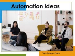 Automation Ideas Mechanization Cyber Security Infrastructure Implement Technology Material