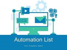 Automation List Assurance Process Product Infrastructure Marketing