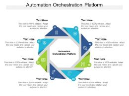 Automation Orchestration Platform Ppt Powerpoint Presentation Infographic Template Sample Cpb