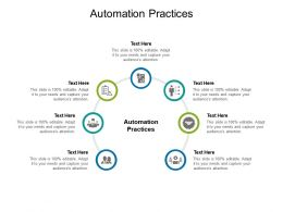 Automation Practices Ppt Powerpoint Presentation Ideas Rules Cpb