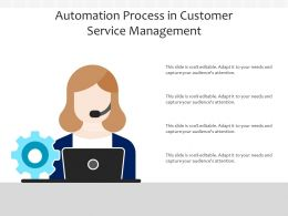 Automation Process In Customer Service Management
