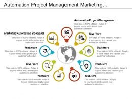 Automation Project Management Marketing Automation Specialist Cpb