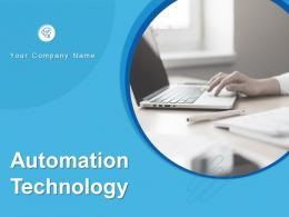 Automation Technology Powerpoint Presentation Slides