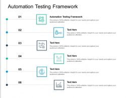 Automation Testing Framework Ppt Powerpoint Presentation Infographic Template Clipart Cpb