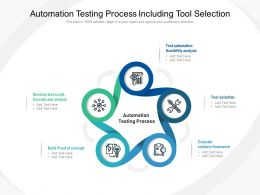 Automation Testing Process Including Tool Selection