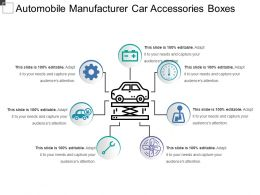 Automobile Manufacturer Car Accessories Boxes