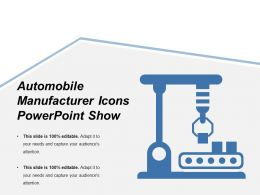 Automobile Manufacturer Icons Powerpoint Show