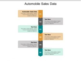 Automobile Sales Data Ppt Powerpoint Presentation Gallery Icons Cpb