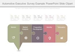 Automotive Executive Survey Example Powerpoint Slide Clipart