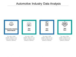 Automotive Industry Data Analysis Ppt Powerpoint Presentation File Example Introduction Cpb
