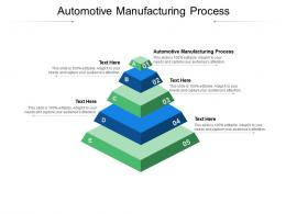 Automotive Manufacturing Process Ppt Powerpoint Presentation Styles Clipart Images Cpb
