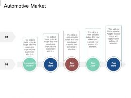 Automotive Market Ppt Powerpoint Presentation Gallery Graphics Cpb