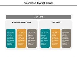 Automotive Market Trends Ppt Powerpoint Presentation Infographic Template Slideshow Cpb
