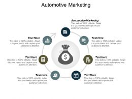 Automotive Marketing Ppt Powerpoint Presentation Outline Graphics Tutorials Cpb