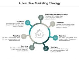 Automotive Marketing Strategy Ppt Powerpoint Presentation Ideas Files Cpb