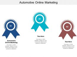 Automotive Online Marketing Ppt Powerpoint Presentation File Introduction Cpb
