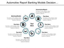 Automotive Report Banking Models Decision Modelling Market Segments Cpb