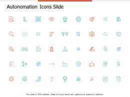 Autonomation Icons Slide Strategy Ppt Powerpoint Presentation Model Objects