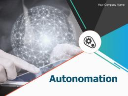 Autonomation PowerPoint Presentation Slides