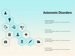 Autonomic Disorders Ppt Powerpoint Presentation Professional Vector