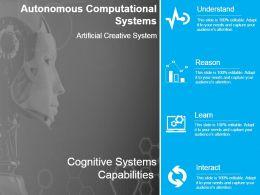 Autonomous Computational Systems Sample Of Ppt