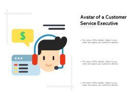 Avatar Of A Customer Service Executive