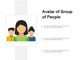 Avatar Of Group Of People