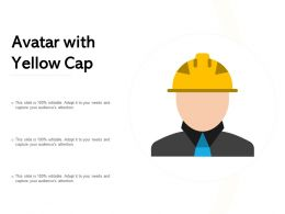 Avatar With Yellow Cap