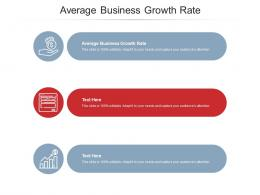 Average Business Growth Rate Ppt Powerpoint Presentation Portfolio Picture Cpb