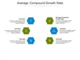 Average Compound Growth Rate Ppt Powerpoint Presentation Portfolio Show Cpb