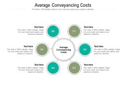 Average Conveyancing Costs Ppt Powerpoint Presentation File Slide Portrait Cpb
