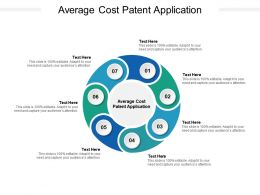Average Cost Patent Application Ppt Powerpoint Presentation Icon Graphics Download Cpb