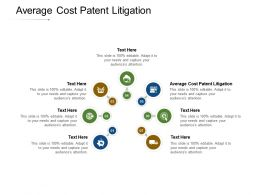 Average Cost Patent Litigation Ppt Powerpoint Presentation Summary Information Cpb