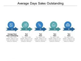 Average Days Sales Outstanding Ppt Powerpoint Presentation Show Ideas Cpb