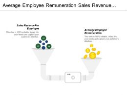 Average Employee Remuneration Sales Revenue Per Employee Resources Scarcity
