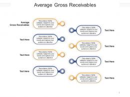 Average Gross Receivables Ppt Powerpoint Presentation Inspiration Example Cpb