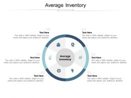 Average Inventory Ppt Powerpoint Presentation Infographic Template Objects Cpb
