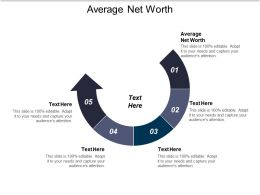 Average Net Worth Ppt Powerpoint Presentation File Infographic Template Cpb
