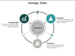 Average Sales Ppt Powerpoint Presentation Icon Demonstration Cpb