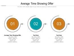 Average Time Showing Offer Ppt Powerpoint Presentation File Maker Cpb