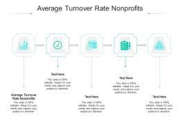 Average Turnover Rate Nonprofits Ppt Powerpoint Presentation Slides Gridlines Cpb