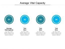Average Vital Capacity Ppt Powerpoint Presentation Infographic Template Show Cpb