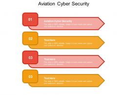 Aviation Cyber Security Ppt Powerpoint Presentation Icon Images Cpb