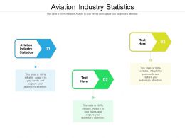 Aviation Industry Statistics Ppt Powerpoint Presentation Styles Introduction Cpb